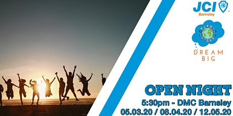 JCI Barnsley Open Night tickets