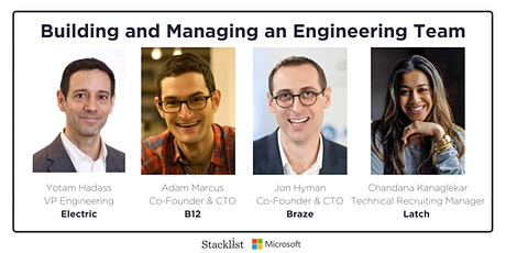 Building and Managing an Engineering Team  tickets