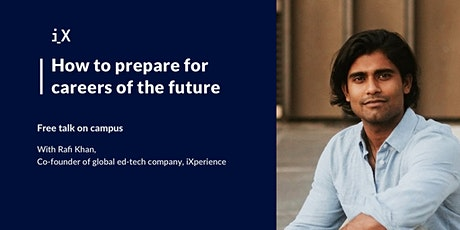 How to Prepare for Careers of the Future - Talk at UMich  tickets