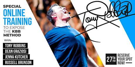 LIVE: TONY ROBBINS & DEAN GRAZIOSI Event! (Toronto) *HAPPENING 2/27/20* tickets