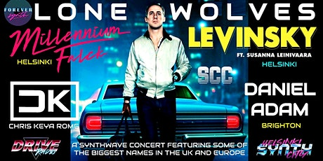 LONE WOLVES SYNTHWAVE CONCERT tickets