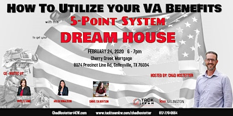 5 Point System To Get Your Dream Home Hosted by Chad Hostetter tickets
