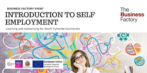 Introduction to Self Employment | Monday 9th March at 10am