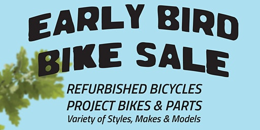 Early Bird Spring Bike Sale at Recycle-A-Bike