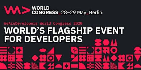 WeAreDevelopers World Congress 2020 tickets