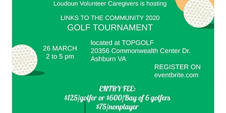 Links to The Community - TopGolf Fundraiser tickets