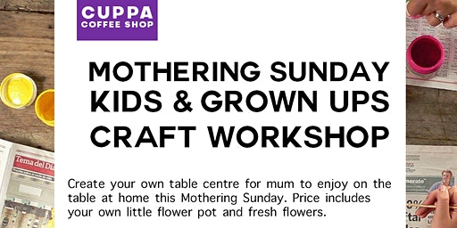 Pre-Mother's Day Kids Craft Workshop