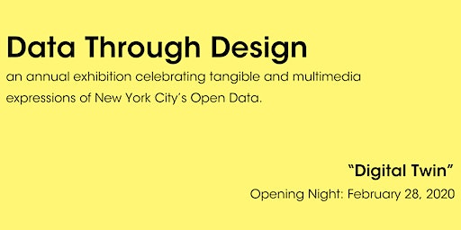 Data Through Design Exhibit - Opening Night