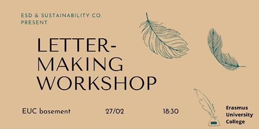 Letter-making Workshop