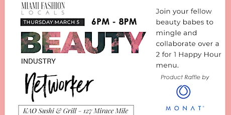 Beauty Industry Networker tickets