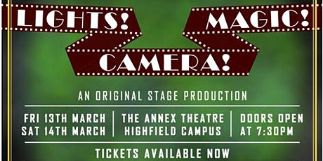 MagicSoc Presents: 'Lights! Camera! Magic!' Magic Show  tickets
