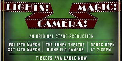 MagicSoc Presents: 'Lights! Camera! Magic!' Magic Show