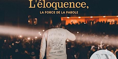 Conférence - L'éloquence, la force de la parole  billets