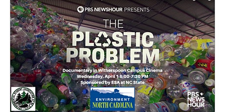 The Plastic Problem Screening at NC State tickets