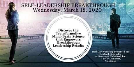 SELF-LEADERSHIP BREAKTHROUGH tickets