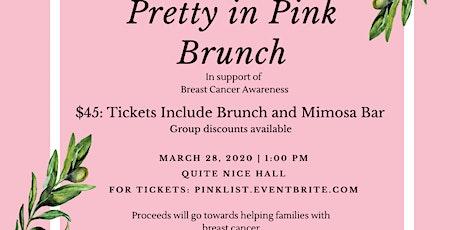 2020 Annual Pretty In Pink Brunch tickets