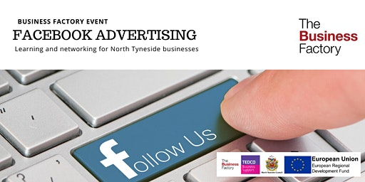 Facebook Advertising   Wednesday 11th March at 1.30pm