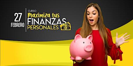 Curso  Gratuito Maximiza tus finanzas personales entradas