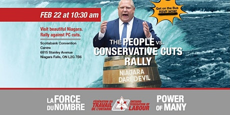 People vs Conservative Cuts Rally in Niagara Falls tickets