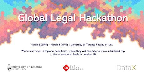 Global Legal Hackathon Toronto Node tickets