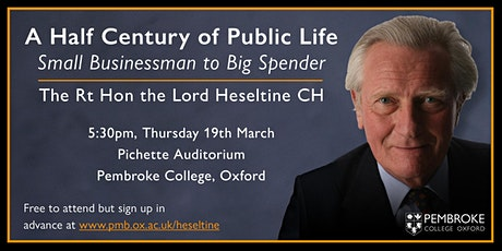 A Half Century of Public Life: Small Businessman to Big Spender tickets