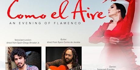 Como el Aire, an evening of Flamenco tickets