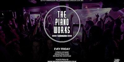 Fridays+at+Piano+Works+Farringdon+--+Drinks+f