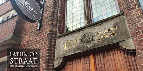 Latijn op Straat: Een Stadswandeling door het Centrum van Groningen tickets