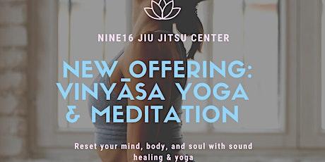 Vinyāsa Yoga and Meditation Class tickets