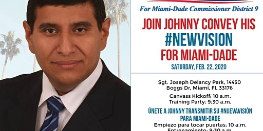 Day of Action - Canvass for a New Vision for Miami-Dade