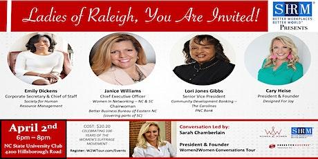 Women2Women - Raleigh, NC tickets