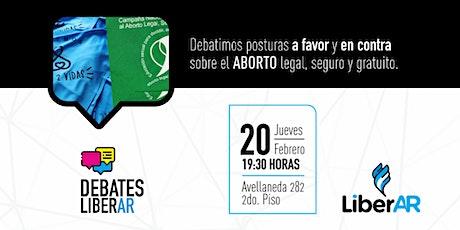 #DebatesLiberAR > ABORTO entradas