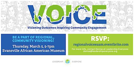 Regional VOICE Community Visioning Session