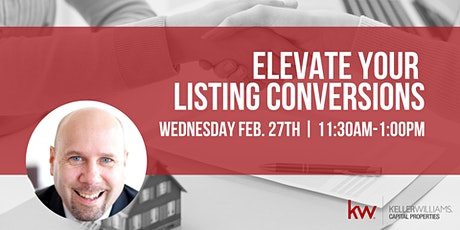 Elevate Your Listing Conversions tickets