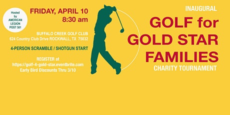 GOLF for GOLD STAR FAMILIES Tournament tickets