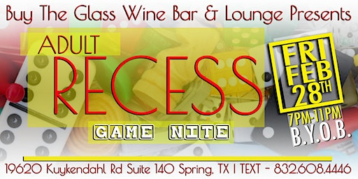 Friday Game Nite | The Woodlands & N. Houston