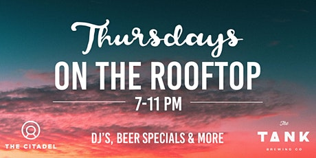 Thursday's on the Rooftop tickets