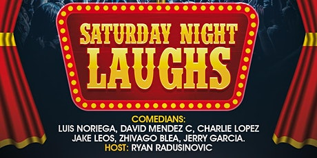Saturday Night Laughs - Comedy Show tickets