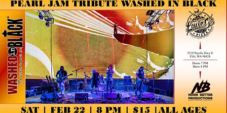 Washed in Black [Pearl Jam Tribute] Full Concert Experience! ALL AGES tickets