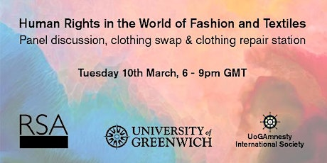 Human Rights in the World of Fashion and Textiles tickets
