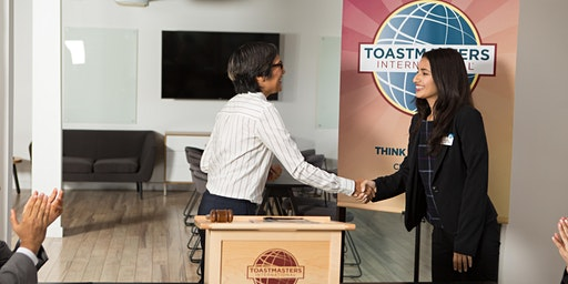"""Literally Speaking"" Toastmasters. Communication. Competence. Leadership."