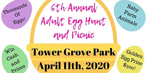 6th Annual Crafted Events Adult Egg Hunt & Picnic (Ages 21+)