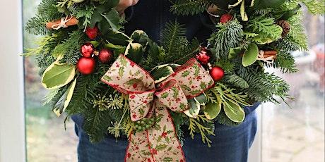 Christmas Wreath Workshop, Cheltenham, Gloucestershire tickets