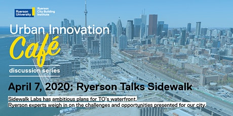 Ryerson Talks Sidewalk: an Urban Innovation Café tickets