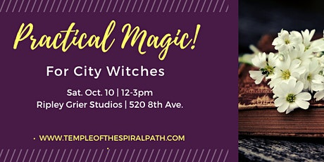 TSP Workshop: Practical Magic for City Witches tickets