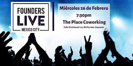Founders Live CDMX boletos