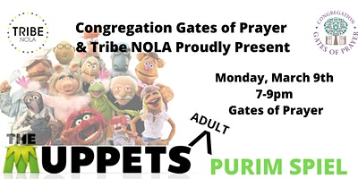 Tribe and Gates of Prayer Purim Celebration