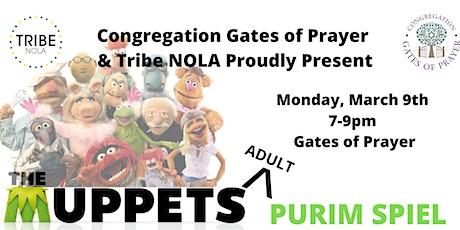 Tribe and Gates of Prayer Purim Celebration tickets