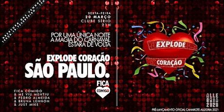 Explode Coração 2020 : São Paulo ingressos