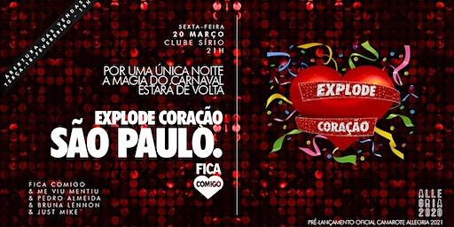 Explode Coração 2020 : São Paulo